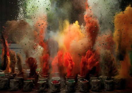 The Sound of Taste : Explosion Slowmotion d'épices 10