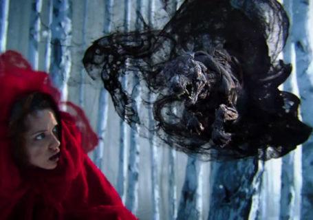 Pub 3D effet de fumée : Hunger is a Monster 1