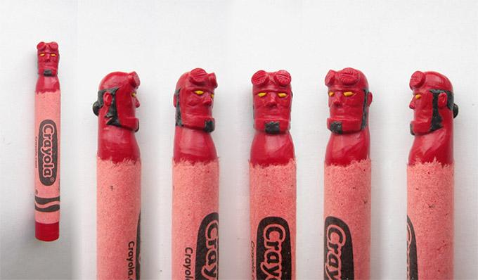 sculptures crayons Hoang Tran (2)