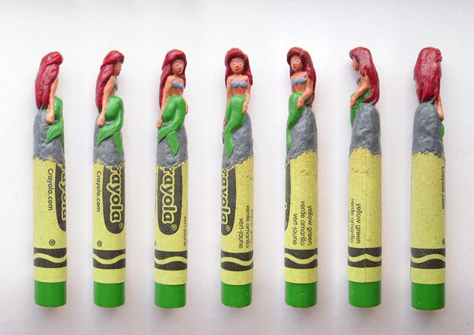 sculptures crayons Hoang Tran (6)