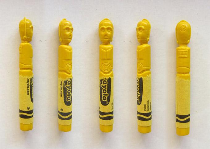 sculptures crayons Hoang Tran (7)