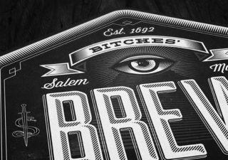 Identité visuelle : Bitches Brew par Wedge & Lever 1