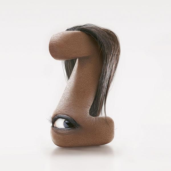 human typeface JC Debroize 3