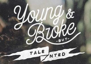 Typographie : Projet de 365 lettering  1