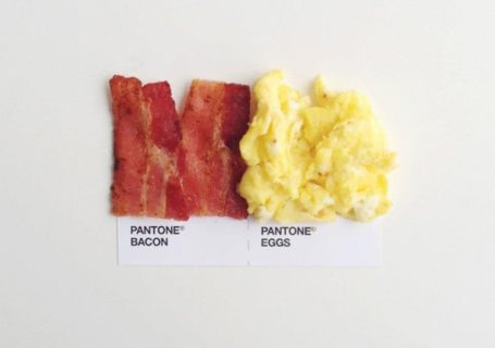 La nourriture Pantone 12