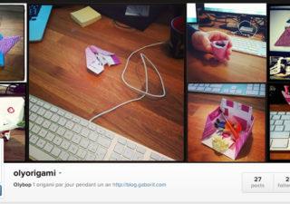 Projet : 1 origami par jour pendant 1 an
