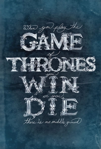 Game-of-thrones-typography-Cersei Lannister