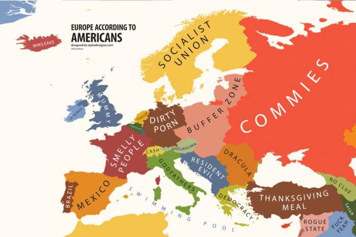 europe via USA