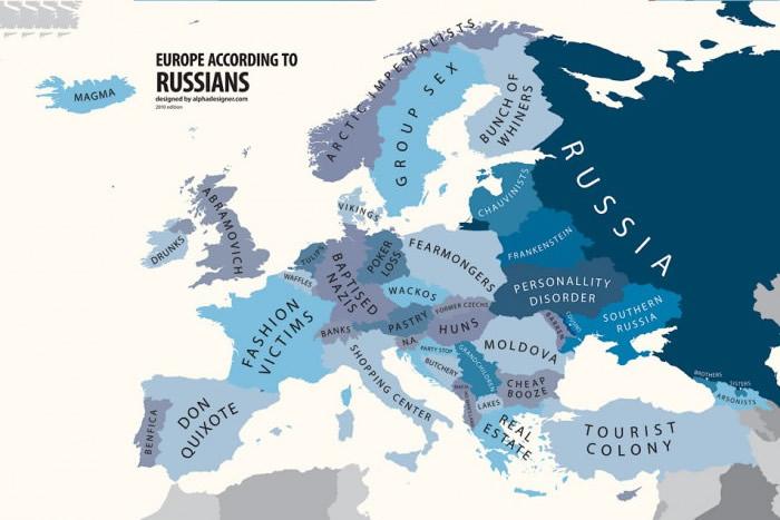 europe via russie