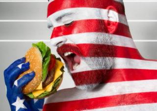 Photographie : Les stéréotypes des pays avec Fat Flag par Jonathan Icher