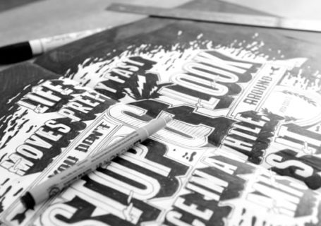 Typographie : Inspiration Lettering fait main 12