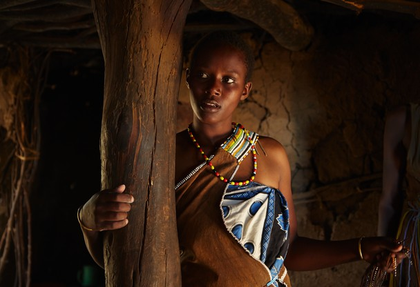 The Masai tribe girl by Keren Varon