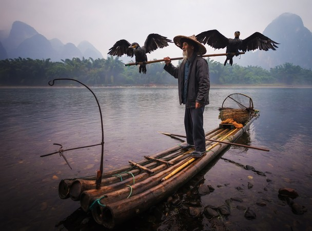 Xingping, Guangxi, China by Paul Weeks