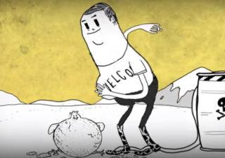Animation sur le monde en déclin 1