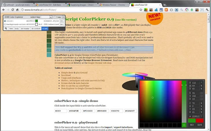 chrome-colorpocker