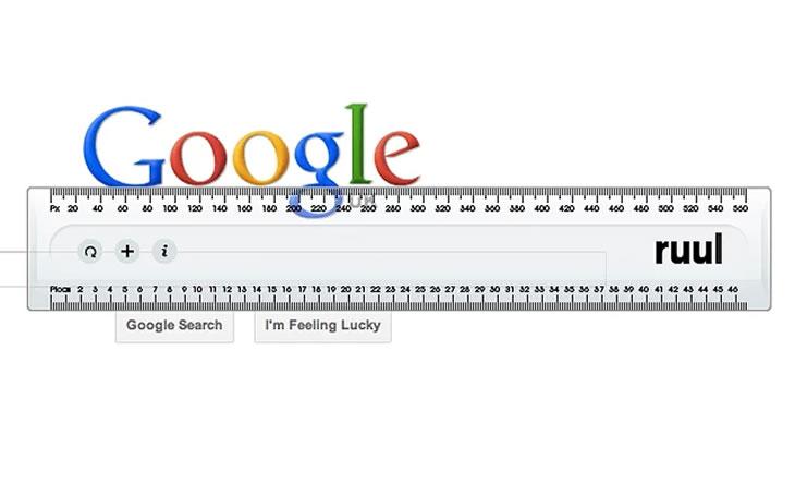 12 extensions chrome pour web designers olybop - Regle pour mesurer ...