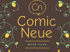 Typographie Comic Neue : La nouvelle Comic Sans MS 8