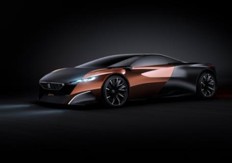 Concept car Peugeot Onyx 2