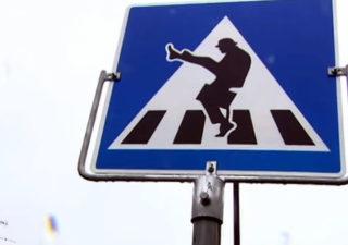 StreetArt et Monty Python au service de la bonne humeur