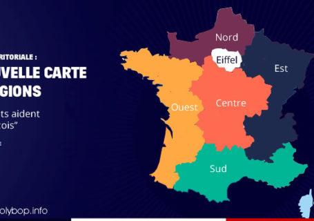 Parodies de la nouvelle carte des régions Françaises 6