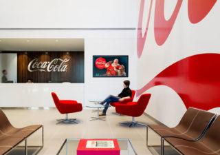 Les bureaux design de CocaCola à Toronto 1