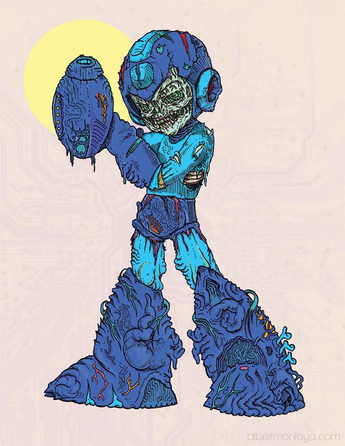 pop-culture-zombie-megaman