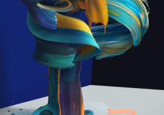 Typographie 3D par Pawel Nolbert 1