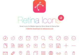 Ressources gratuites pour Webdesigner - 1000 Icones vectorielles 1