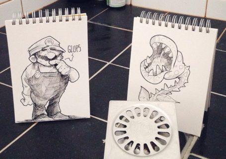 Cartoonbombing : Les illustrations dans le monde réél de Troqman 8
