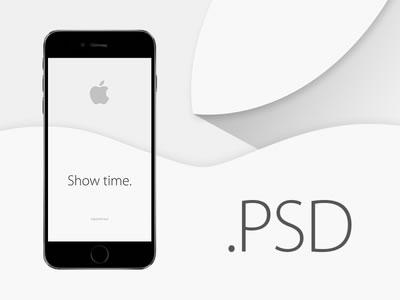 Ressources : Les Psd et mockups pour l'iphone 6 et apple Watch 3