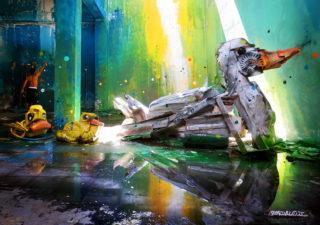 Bordalo : Quand les poubelles deviennent de magnifiques Street Art