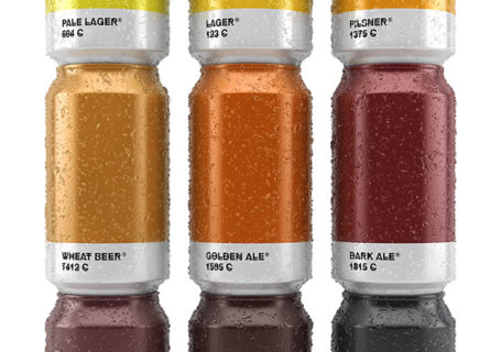 Packaging : La bière Pantone 9