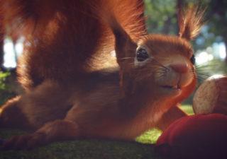 Superbe Spot 3D : Minor l'écureuil  1