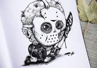Illustrations - Baby Terrors par Alex Solis