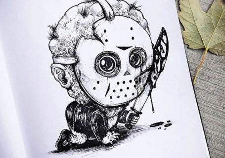 Illustrations - Baby Terrors par Alex Solis 1