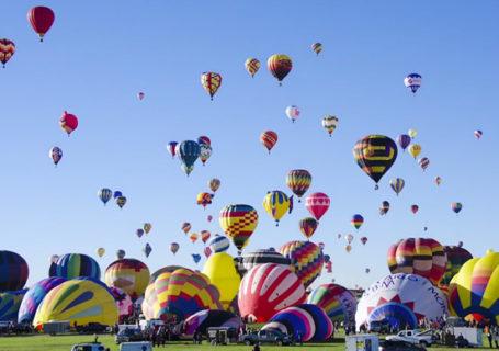 Timelapse : Albuquerque Balloon Fiesta 2014 5