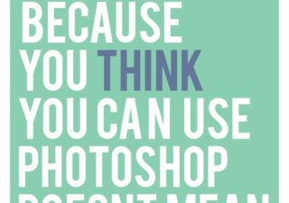 De l'humour en posters typographiques