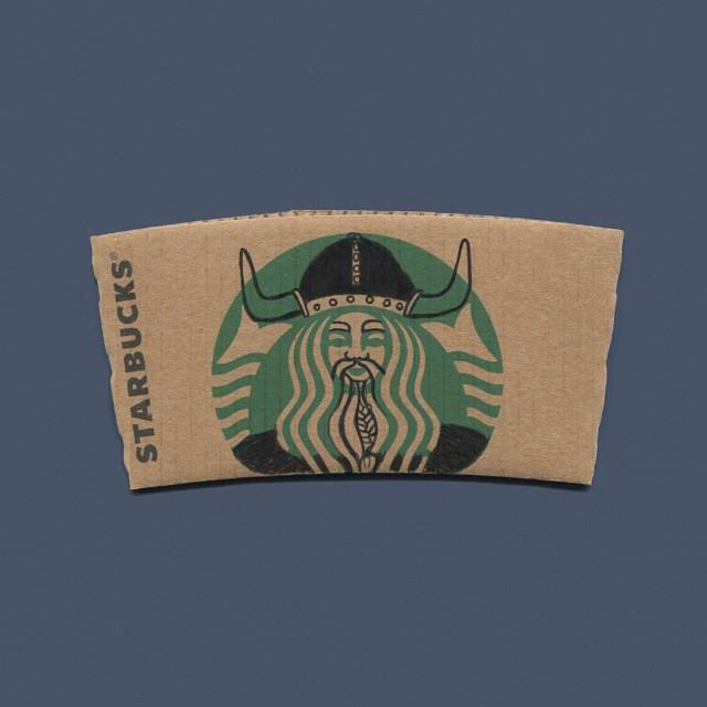 starbucks-cup-sleeve-art-pop-culture-characters-sleevebucks-13