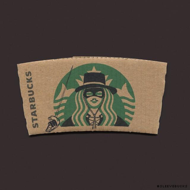 starbucks-cup-sleeve-art-pop-culture-characters-sleevebucks-3