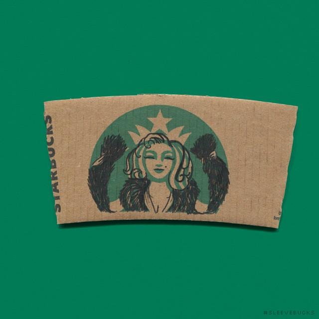 starbucks-cup-sleeve-art-pop-culture-characters-sleevebucks-4