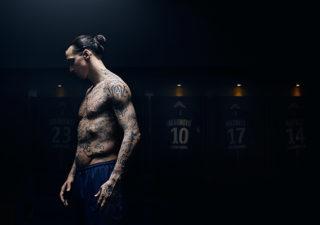 Les tatouages typographiques d'Ibrahimovic 1
