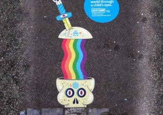 Campagne StreetArt pour le musée des enfants de Londres