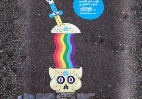 Campagne StreetArt pour le musée des enfants de Londres 7