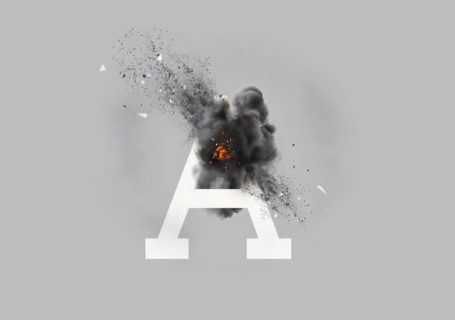 Prévention Crash Text : Quand la typographie se fait exploser 1