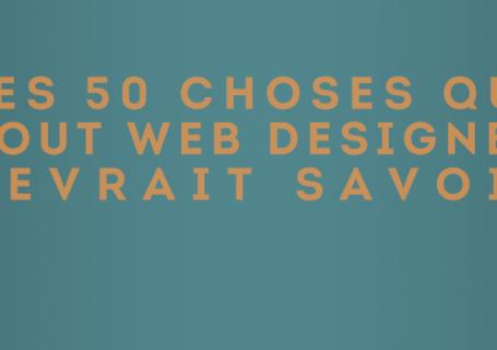 Les 50 astuces qui pourraient aider un WebDesigner 3