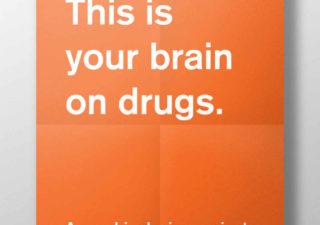 Posters minimalistes de votre cerveau sous drogue 1
