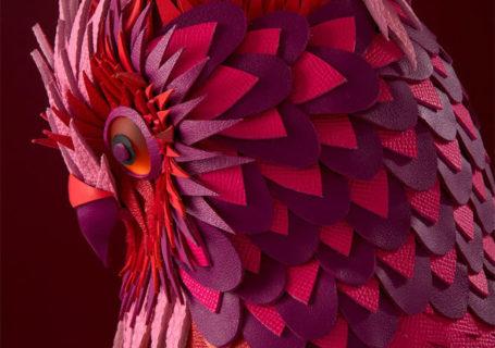 Les animaux de papier et de cuir par Zim&Zou 6