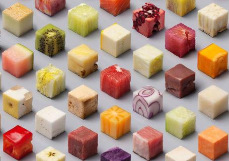 Photo : 98 cubes des nourriture par Lernert & Sander 7