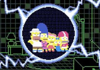 Le générique Simpsons en version 8bits 1