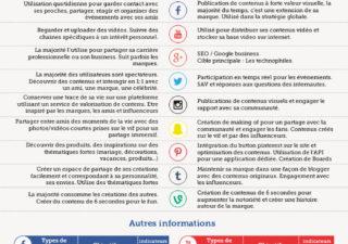 Infographie : Cartographie des réseaux sociaux ( Version Française Nov 2015)